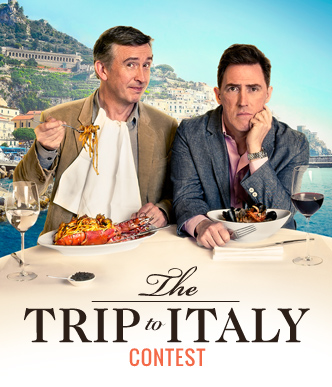 The Trip to Italy contest microsite