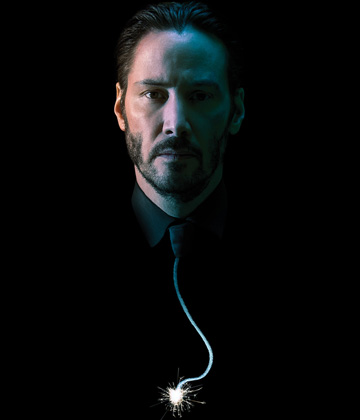 John Wick movie contest microsite